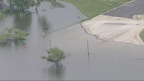 Several North Texas lakes closed to due high water