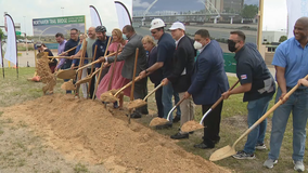 Ground broken on Northaven Trail Pedestrian Bridge to connect trails on both sides of 75 in Dallas