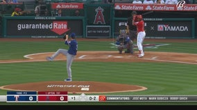 Ohtani hits 15th HR in 6-run 4th, Angels defeat Rangers 11-5