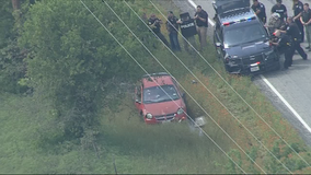 Hill County constable shot during police chase along I-35W that ended with standoff in Johnson County
