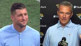 Jaguars to offer Tim Tebow 1-year deal as tight end, reports say