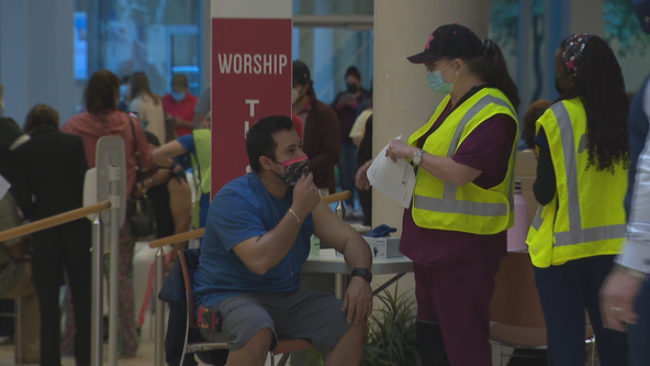 Dallas' First Baptist Church hosts vaccine clinic to ease some resistance toward COVID-19 vaccine