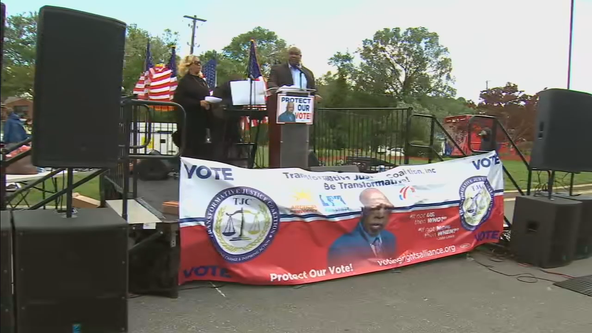John Lewis Voter Advancement Day event held in Dallas to rally for voting rights