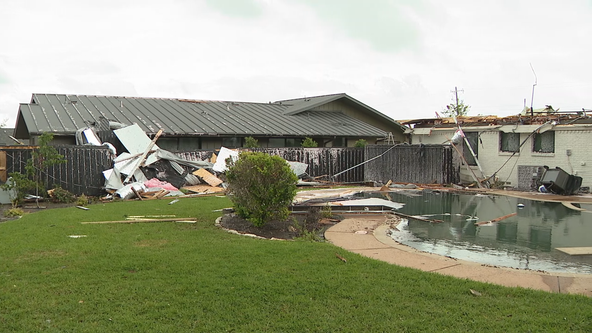 Sunday's storms, possible tornado cause damage in Dallas County