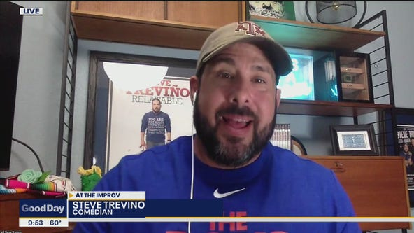 Steve Trevino's new comedy special was filmed in Texas