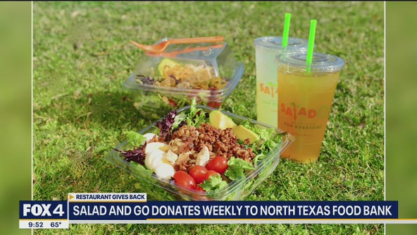 Salad and Go donates healthy meals to North Texas Food Bank