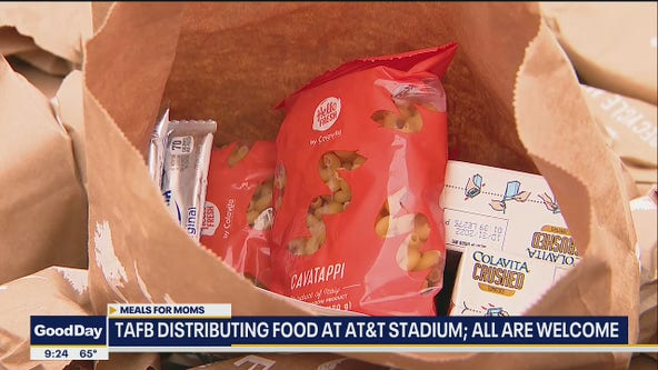 TAFB distributing Meals for Moms at AT&T Stadium