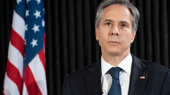 Secretary of State Blinken signals US won't immediately press for Israel-Palestine cease-fire
