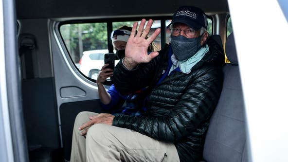 75-year-old returns safe from summit after becoming oldest American to climb Mt. Everest