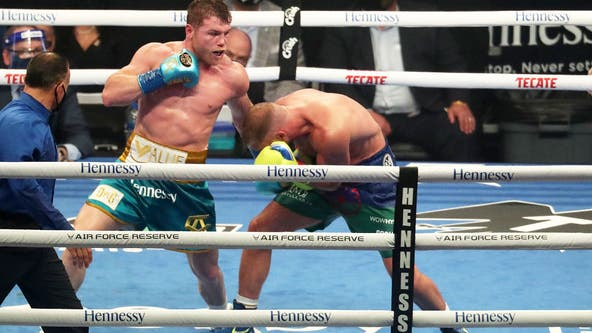 AT&T Stadium hosts biggest event since start of the pandemic as 73,000 watch Canelo beat Saunders
