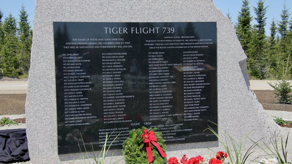 New memorial dedicated to soldiers who died on secret mission to Vietnam