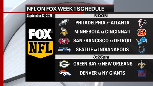 Sneak Peek: NFL releases Week 1 schedule on FOX