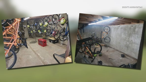 Bikes stolen from Dallas Boy Scouts camp found in hidden trailer