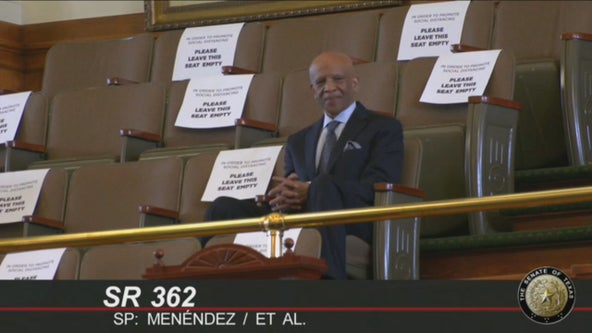 Cowboys great Drew Pearson honored by the Texas Legislature