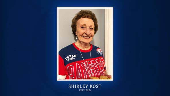"""Texas Rangers """"Cookie Lady"""" passes away at 82"""
