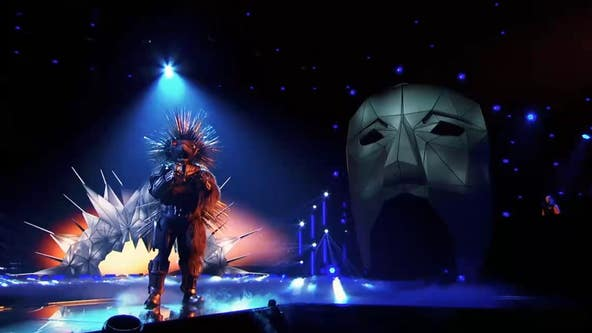 Robopine's reveal on 'The Masked Singer' was fast and furious