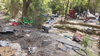 City clears out sprawling homeless encampment in northeast Dallas