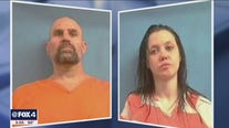 Suspect in Rhome police officer shooting, girlfriend arrested in Arkansas