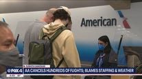American Airlines cancels hundreds of flights due to staffing shortages