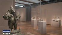 Buddha, Shiva, Lotus, Dragon at the Kimbell Art Museum