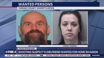 Shooting suspect's girlfriend wanted for home invasion