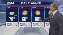 June 21 evening forecast