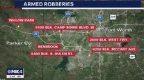 Robber hits at least six Tarrant County convenience stores in just hours