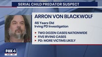 Irving police arrest suspected serial child predator in cases dating back to 1986