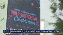 Klyde Warren Park hosts Independence Day celebration
