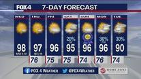 June 16 morning forecast