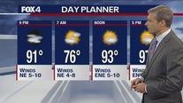 June 14 overnight forecast