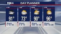 June 23 evening forecast