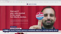 Tarrant County warns of suspicious mailer asking people for voter registration info