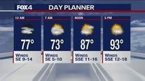 June 22 overnight forecast