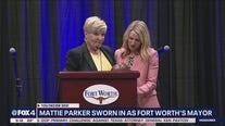 Mattie Parker sworn in as Fort Worth's newest mayor