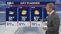 June 14 evening forecast
