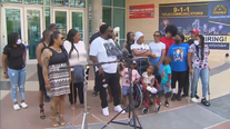Rallies for Peace held outside Dallas Police Headquarters