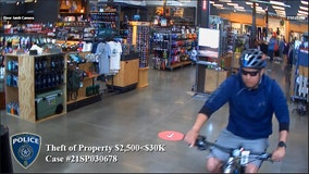 Southlake police searching for man who stole $6,300 bicycle from store