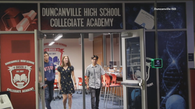 Some Duncanville ISD students also graduate with college degree thanks to district's Collegiate Academy