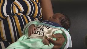 Woman who delivered baby after being shot while leaving Dallas church introduces newborn, Marvelous