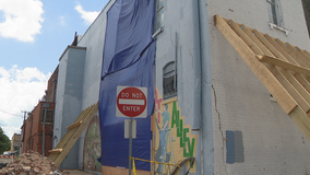 Downtown Cleburne structures could be examined after historic building's wall collapse