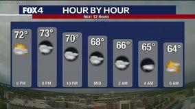 June 1 evening forecast
