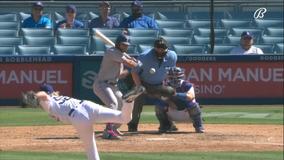 Buehler, Betts propel Dodgers to 5-3 win over Rangers