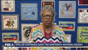 Opal Lee continues quest to make Juneteenth a national holiday