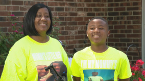 McKinney 13-year-old credited with helping save his mother's life for the second time