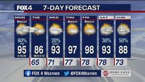 June 21 morning forecast