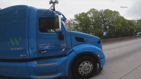Self-driving tech company testing autonomous big rigs across North Texas roads