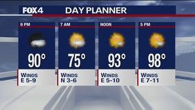 June 15 evening forecast
