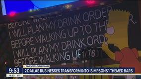 Dallas businesses transform into Simpson-themed bars