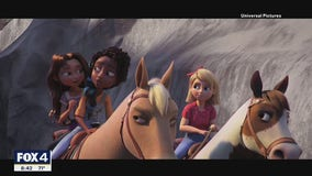 2 young North Texas actresses star in new animated film Spirit Untamed